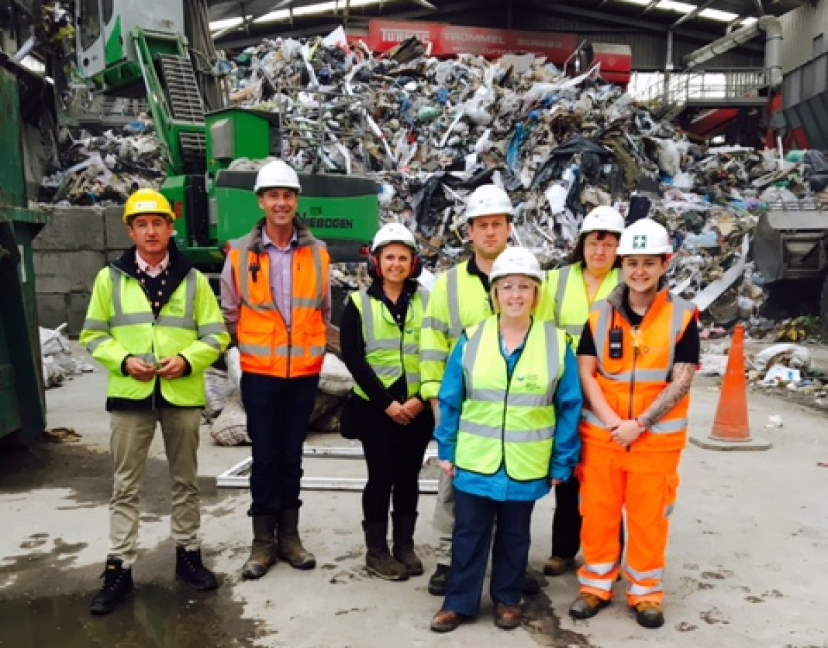 Visit from Suzy Davies AM and Natural Resources Wales